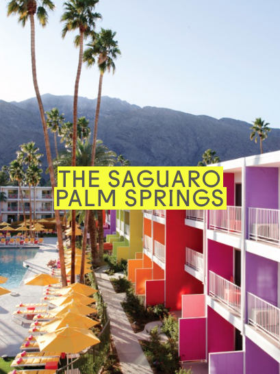 I Heart Palm Springs | The Saguaro Palm Springs